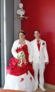 Le premier mariage de l'année